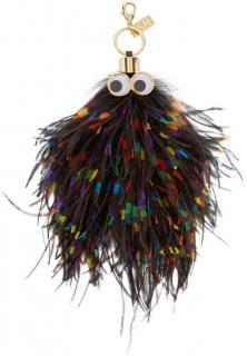 Sophie Hulme Ostrich Bag Charm