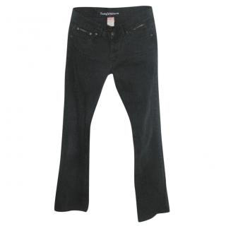 Zadic & Voltaire straight legged black jeans