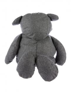 NEW COMME DES GAR�ONS japan Limited Edition Gray Wool Bear Tote handbag bag