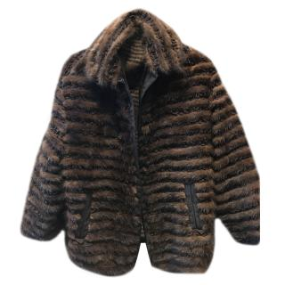 Dolce & Gabbana Mink & Silk Limited Edition Jacket