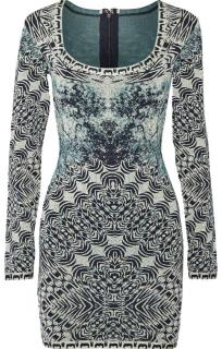 Herve Leger Melissa Bandage-Jacquard Mini Dress