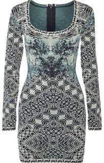 Herve Leger Melissa Bandage-Jacquard Mini Dress