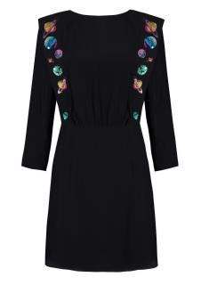 Rixo Beth Embroidered Mini Dress