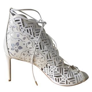 Nicholas Kirkwood lasercut sandals