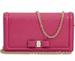 Salvatore Ferragamo Vara Bow Begonia Mini Bag