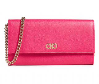 Salvatore Ferragamo begonia gancini mini crossbody bag