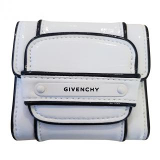 Givenchy ladies White Leather Wallet & Coin Pouch