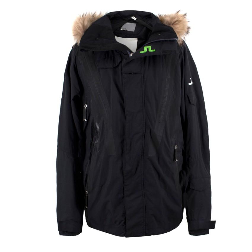 J.Lindeberg x Jon Olsson Fur Trim Hood Ski Jacket