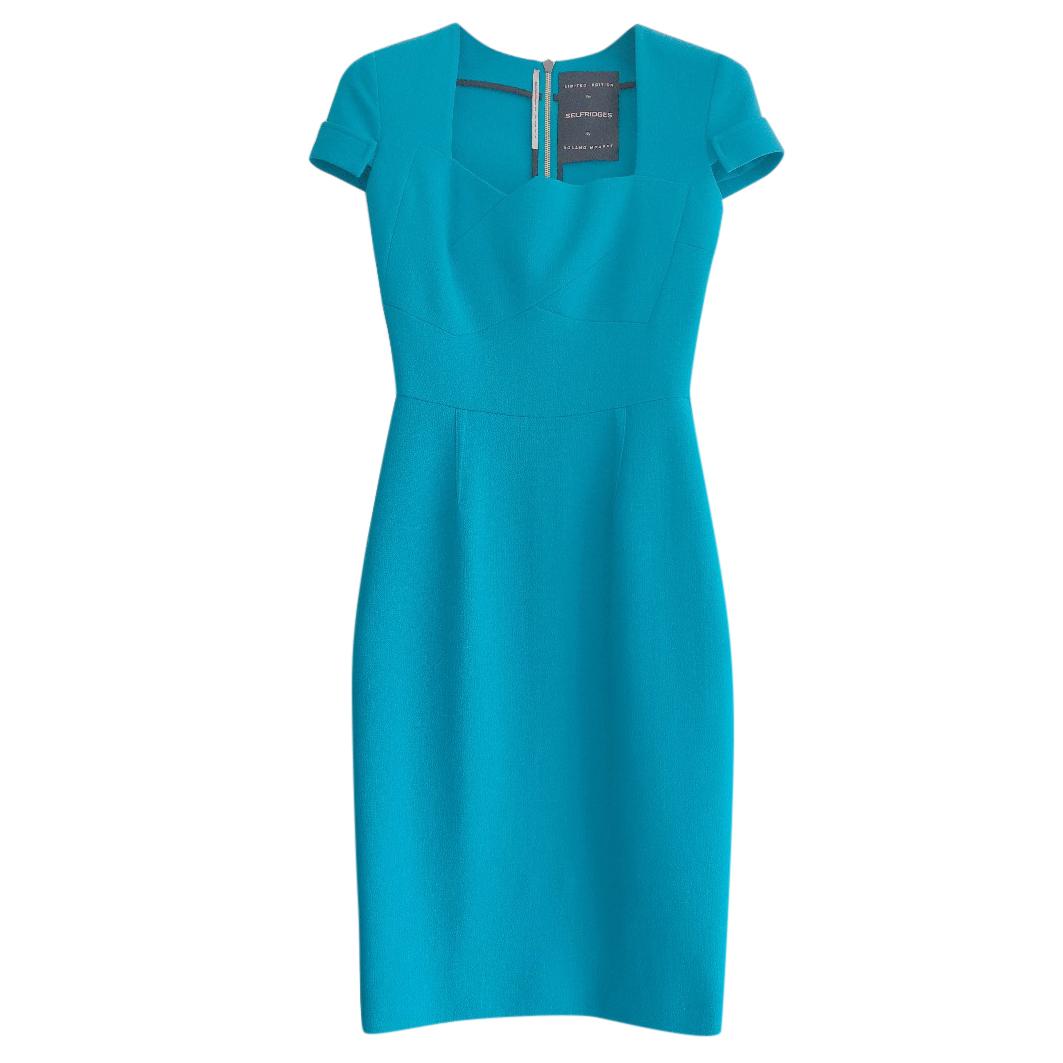 Roland Mouret for Selfridges Blue Ollerton Dress