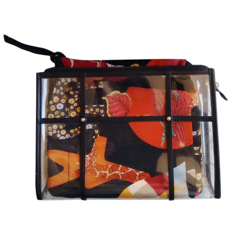 Salvatore Ferragamo make-up bag