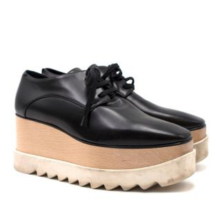 Stella McCartney Black Elyse Platform Sneakers