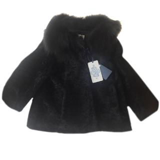 Pintadera Italian sheepskin jacket