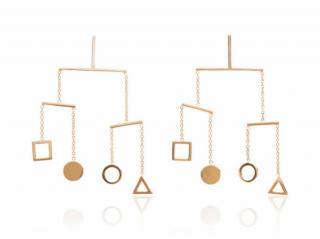 Mateo Dancing Kinetic Objects Earrings