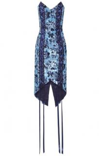 Misha Collection Lorron Lace-up dress