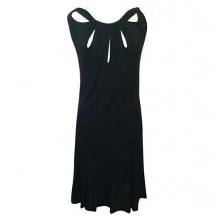 John Galliano black cocktail dress, size XL