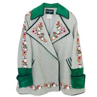 Chanel Paris Salzberg Coat