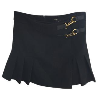 Maje Pleated Rochelle Jupe Mini Skirt