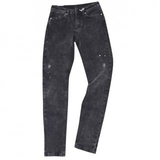 Zoe Karssen Patti Raven Skinny Fit Low Mid Rise Jean Black