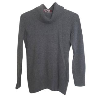 Max Mara roll neck wool and cashmere jumper