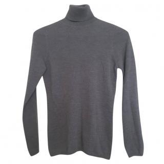 Max Mara roll neck wool jumper