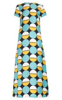 La Double J Sphere Silk Maxi Dress