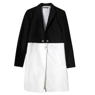 Gucci Resort '12 Monochrome Double Layered Light Coat
