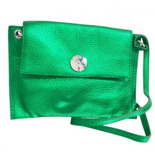 Bimba Y Lola Metallic Green Bag