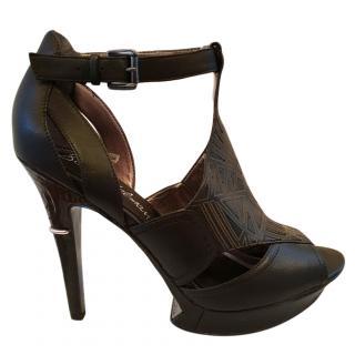 Sam Edelman Black platform Heels