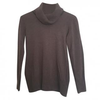 Max Mara roll neck knit wool jumper
