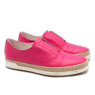 Tod's Francesina Espadrille Slip On Sneakers