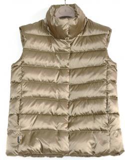 Ralph Lauren Polo Sport metallic bronze down vest gilet