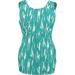 Marni turquoise and white  top