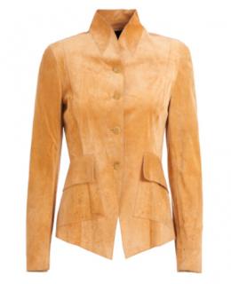 Gucci Tan Suede Jacket