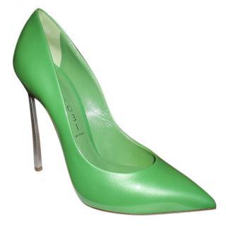 Casadei Green Blade Pumps