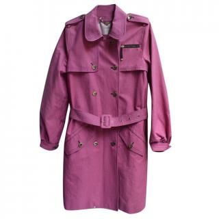 Luella pink trench coat