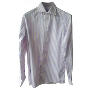 Eton Men's Lilac Striped Shirt