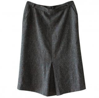 Max Mara Wool Midi Skirt