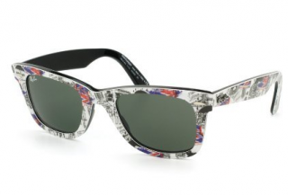 Ray-Ban Wayfarer Special Series #2 Mta Multi-Color Map Sunglasses