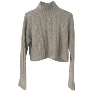 Bamford chunky cashmere knit jumper