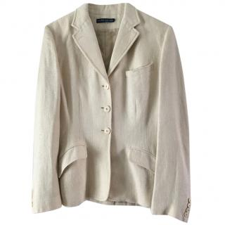 Ralph Lauren cream jacket