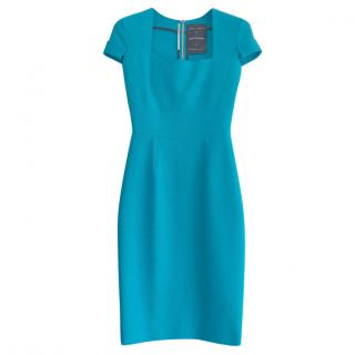 Roland Mouret for Selfridges Blue Ollerton Dress