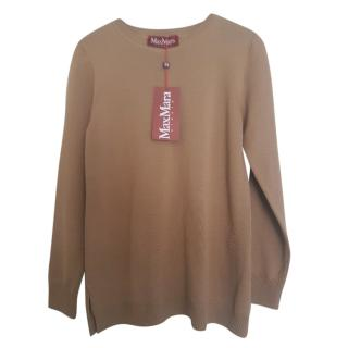 Max Mara knit camel jumper