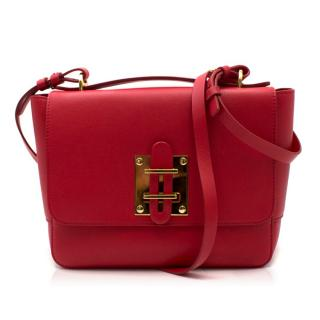 Sophie Hulme Red Quick Large Bag