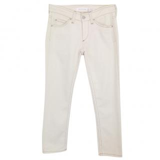 Isabel Marant Etoile Straight Cut Cropped Jeans
