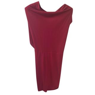 RM by Roland Mouret red jersey mini dress