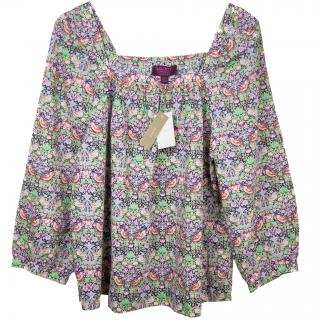J. Crew Liberty of London Penny top