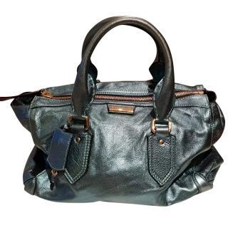 Burberry Prorsum Green Blaze Tote Bag