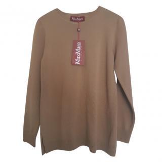 MaxMara knit camel jumper