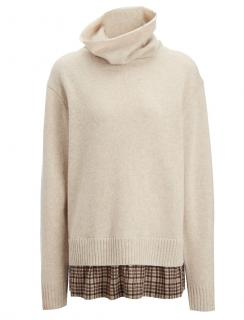 Joseph High Neck Wool Cashmere Jumper