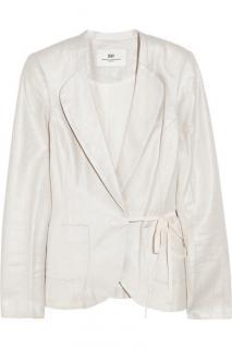 Day Birger et Mikkelsen Metallic linen and cotton-blend jacket